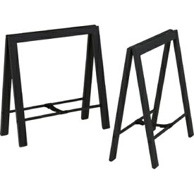 テーブル 脚のみ パーツ2脚セット ブラック