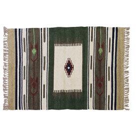 キリムラグ ラグマット 90x130cm コットン 綿 フロアマット 柄 ラグ マット カーペット じゅうたん 絨毯 センターラグ リビングラグ シンプル おしゃれ 北欧 高級感