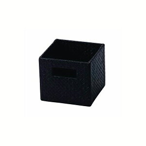 送料無料 パンダン サイコロBOX ダークブラウン
