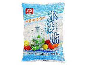 パールエース 氷砂糖 クリスタル 1Kg x10 *