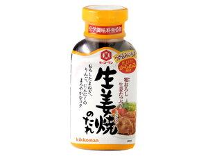 キッコーマン 粗おろし 生姜焼のたれ 210g x6 *