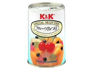 K&K フルーツみつ豆 425g x12 *