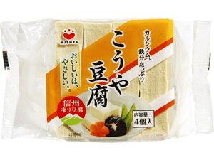 みすず こうや豆腐 4個 ポリ 66G x10 *