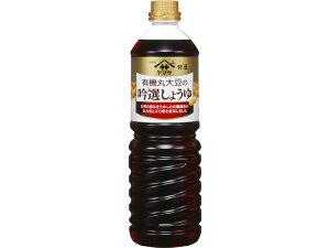 ヤマサ 特選 有機丸大豆の吟選しょうゆ 1L x6 *