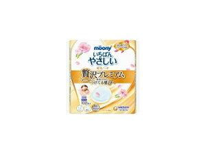 ユニ・チャーム ムーニー母乳パッドぜい沢プレミアム102枚x1