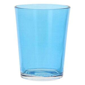 送料無料 6個入り コップ ガラス カラフルグラス M ブルー ガラスコップ おしゃれ ギフト 結婚祝い 内祝い お祝い 贈り物 プレゼント 誕生日