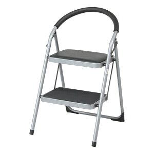 送料無料 4個入り ステップチェアー 2段 いす 椅子 イス 脚立 折りたたみ 折り畳み はしご 踏み台 ステップ 梯子 コンパクト 省スペース スチール お掃除 洗車 シンプル おしゃれ