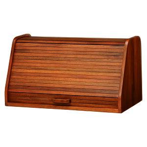 送料無料 ブレッドケース 木製 ブレッドボックス パン 収納 小物入れ 台所収納 調味料ラック スパイスラック シャッター扉 可愛い おしゃれ カウンター上収納 書斎 机上収納 卓上収納 北欧 R