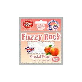 (定形外郵便)発送方法選択の際はメール便をご選択ください Fuzzy Rock(ファジーロック) キシリトールキャンディー ピーチ味(40g)