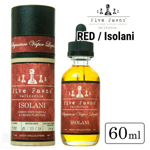【E-リキッド】 FIVE PAWNS / RED / Isolani 60ml