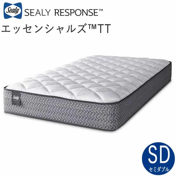 【除】シーリーエッセンシャルズ™ TT セミダブルシーリー レスポンス(ホテルスタイル)マットレスSealy Essentials™ TT株式会社SLEEP SELECT(スリープセレクト)(旧テンピュールシーリージャパン)