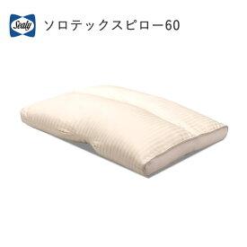 【除】シーリー ソロテックスピロー60(使用時高さ6cm)シーリージャパン(SEALY Japan) 株式会社SLEEP SELECT(スリープセレクト)枕寝装品【送料無料】