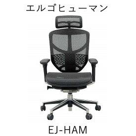 【ポイント10倍】【送料無料】EJ-HAMエルゴヒューマン エンジョイH(ハイタイプ)関家具オフィスチェア