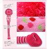 粉紅色的櫻花水稻 comcome 驅動程式頂蓋
