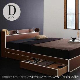 ベッド ダブル ベッド ダブル ダブル フランスベッドマットレス付き ベッド ディースター スーパースプリング 040112597