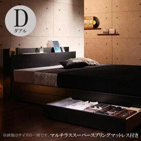 ベッド ダブル ベッド ダブル ダブル フランスベッドマットレス付き ベッド グーテ スーパースプリング 040112637