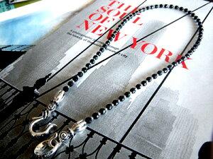 【50cm】Silverエンドパーツチェーン【カッティングオニキス】【50cm】ネックレスオニキスチェーンパワーストーンメンズレディースアクセサリーシルバー925天然石黒い石silver925芸能人ジュエリー魔よけ