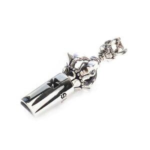 ドージェ ホイッスル Sサイズ silver925 シルバー925 ペンダント ネックレス メンズ ジュエリー アクセサリー ホイッスル 笛 百合紋章 クロス