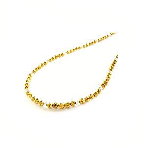 46cm ミラーボール シルバー925 ゴールド ヘマタイト チョーカー ネックレス チェーン マグネット式 メンズ レディース 天然石 パワーストーン アクセサリー ジュエリー