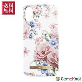 IDEAL OF SWEDEN iPhone X ハードカバー フローラルロマンス 花柄 スマホ保護