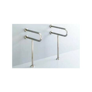 【KF-312S55】リクシル 各種施設用固定式手すり 洗面器用手すり(壁床固定式) ステンレスタイプ 【LIXIL】