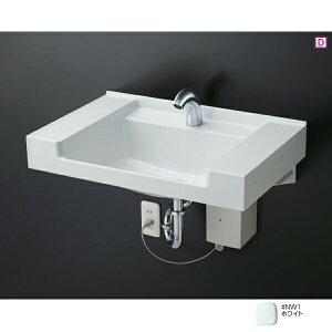 【MVRS45P】TOTO カウンター一体形 壁掛洗面器 樹脂製 NW1(ホワイト) 【トートー】