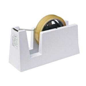 ニチバン TC-CBE5テープカッター台 切り口まっすぐ直線美 for Business 白【安全 刃 重い 白 セロテープ シンプル】