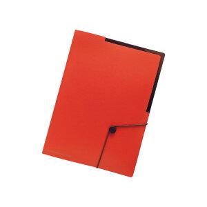 リヒトラブ F7525-4SMART FIT キャリングホルダー A4 オレンジ【スマートフィット 収納 ケース ファイル】