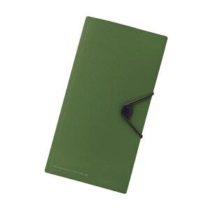 リヒトラブ F7526-22SMART FIT キャリングポケット for TRAVEL オリーブ【スマートフィット 収納 ケース ファイル】