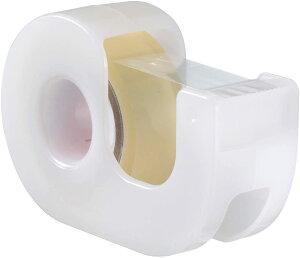 セロテープ 小巻 カッターつき 15mm×9m CT-15DRW [ホワイト]