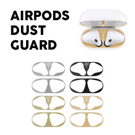 [Apple AirPods1 / AirPods2対応] HANSMARE Airpods Dust Guard エアーポッズダストガード 金属粉侵入防止シール 防塵 アクセサリー ゆうパケット