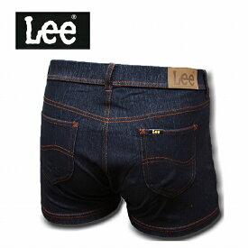 Lee デニムボクサーパンツ デニム 090:ブラック 前開き