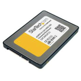 StarTech.com mSATA(メス)-2.5インチSATA SSD変換アダプタ SAT2MSAT25 目安在庫=△