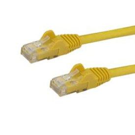 StarTech.com カテゴリ6 LANケーブル 3m YL RJ45コネクタイーサネットケーブル(N6PATC3MYL) 目安在庫=○