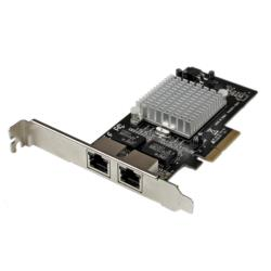StarTech.com ギガビットx2 増設PCIe カード Intel i350使用 ST2000SPEXI 目安在庫=○