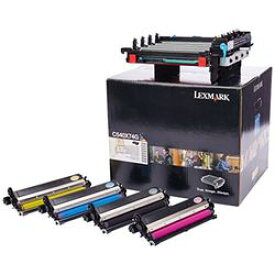 レックスマークインターナショナル C540X74G C54X用ブラック&カラーイメージングキット(30000枚) 取り寄せ商品