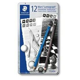 ステッドラー ルモグラフ鉛筆12本セット(100 G12 S1) 取り寄せ商品