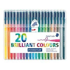 ステッドラー トリプラス カラーペン 20色セット(323 SB20 ) 取り寄せ商品