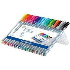 ステッドラー トリプラス ファインライナー 細書きペン20色セット(334 SB20) 取り寄せ商品