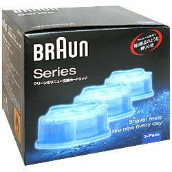 ブラウン ブラウン クリーン&リニューシステム専用洗浄液カートリッジ(3個入) CC(CCR3CR) 目安在庫=○