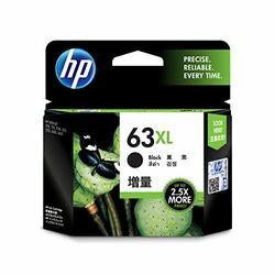 日本HP HP63XL インクカートリッジ 黒(増量) F6U64AA 目安在庫=○