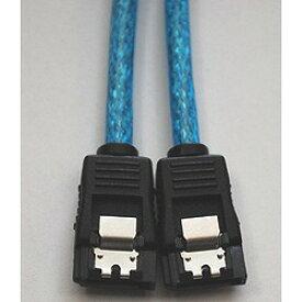 日本トラストテクノロジー バルク シリアルATAラウンドケーブル ラッチ付アオ50cm(NBSA50BLR) 取り寄せ商品