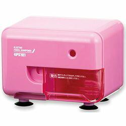 アスカ 電動シャープナー(電動鉛筆削り) ピンク(EPS121P) 目安在庫=△