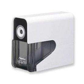 アスカ 乾電池式電動シャープナー (鉛筆削り) ホワイト(DPS30W) 取り寄せ商品
