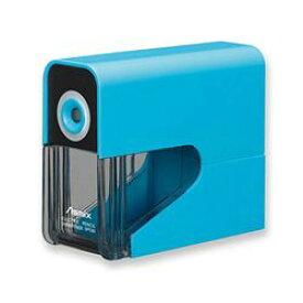 アスカ 乾電池式電動シャープナー (鉛筆削り)  ブルー(DPS30B) 目安在庫=○