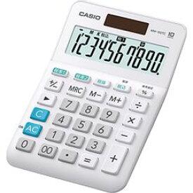カシオ計算機 カシオ 電卓 10桁 W税率電卓 MW-100TC-WE-N 取り寄せ商品