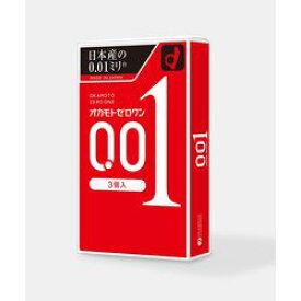 オカモト 001 ゼロワン 0.01ミリ 3個入り(na) 目安在庫=△
