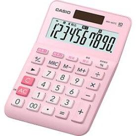 カシオ計算機 カシオ 電卓 10桁 W税率電卓 MW-100TC-PK-N 取り寄せ商品