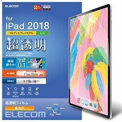 【P10E】エレコム iPad Pro 12.9 2018/保護フィルム/ファインティアラ(耐擦傷)/超透明(TB-A18LFLFIGHD) メーカー在庫品