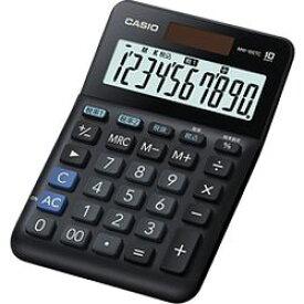 カシオ計算機 カシオ 電卓 10桁 W税率電卓 MW-100TC-BK-N 取り寄せ商品